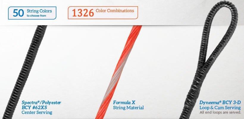 Premium Custom Colored Bowstrings